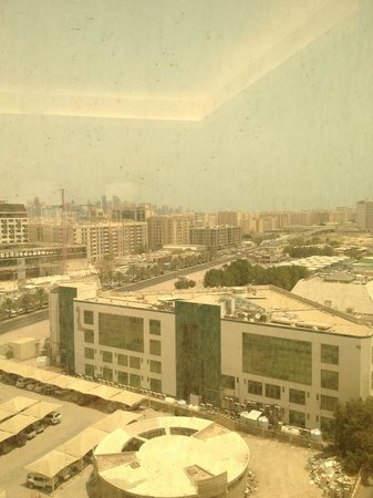 Radisson Blu Hotel, Doha : View from the room.