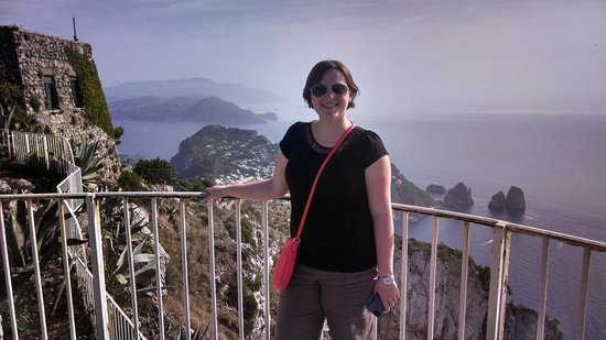 Tours of Amalfi Coast: View from the top of the chairlif