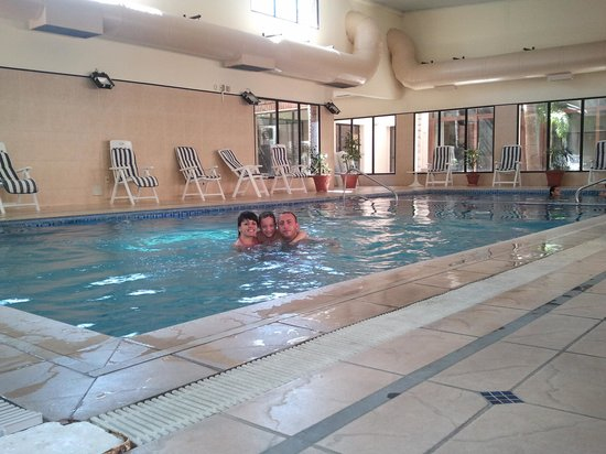 El Mirador Hotel and Spa: pileta interna