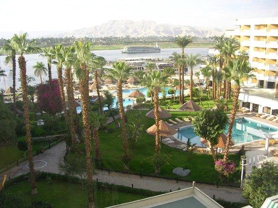 Pyramisa Isis Hotel & Suites Luxor: Zicht op de Nijl