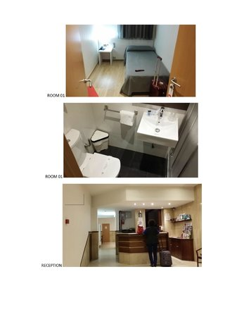 Transit Hotel: ROOM 01