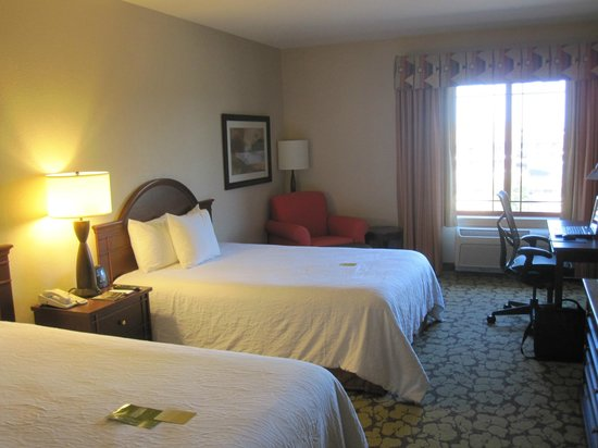 Hilton Garden Inn Wisconsin Dells: Two queen beds