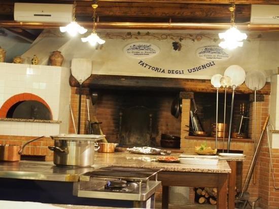 Fattoria degli Usignoli: a wonderful kitchen