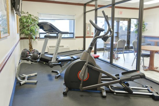 Asbury Inn & Suites: New Fitness Center