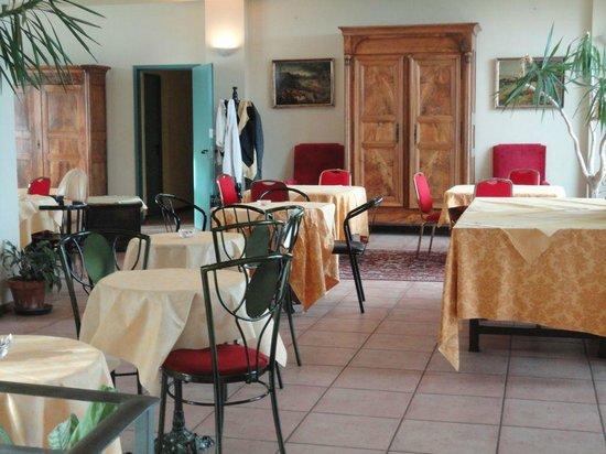 Hotel Tortorina : la sala colazione