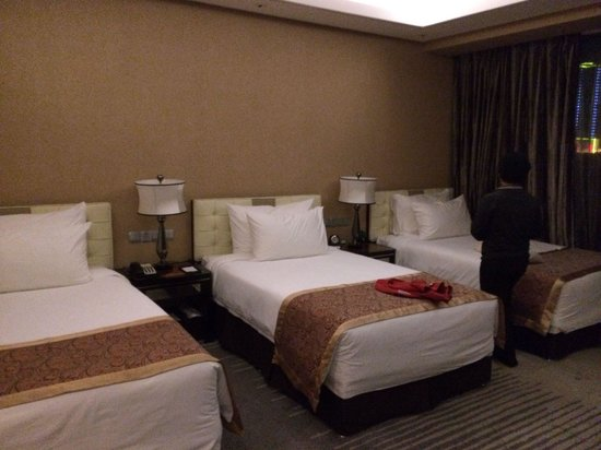 Xindao International Hotel: Triple room / family room