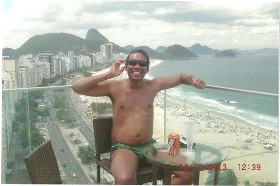 Pestana Rio Atlantica : cobertura maravilhosa