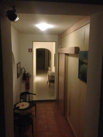 Hotel Vecchio Convento : Corridoio