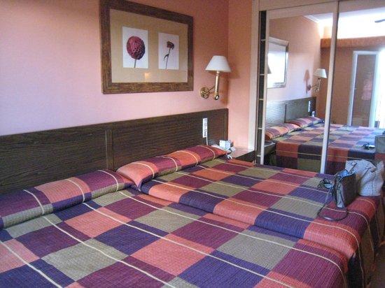 Senator Cadiz Spa Hotel : la chambre