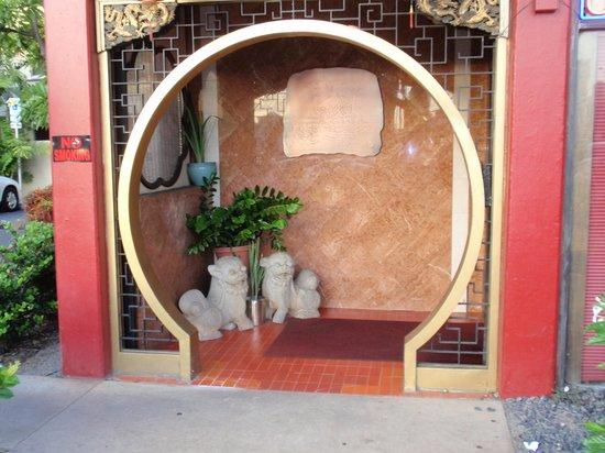 Kirin Restaurant Incorporated: Front door