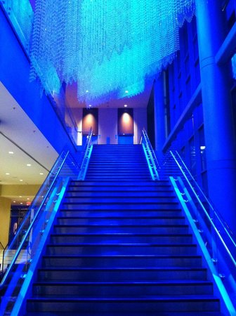 JW Marriott Grand Rapids: The dramatic stairs to the ballrooms