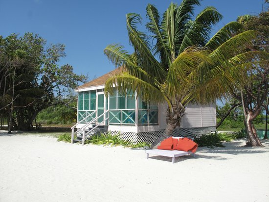 Blackbird Caye Resort : Our villa (superior)