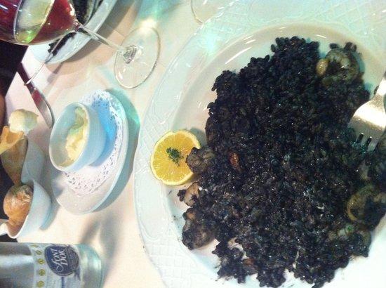 Sitges Bon Estar: arroz negro