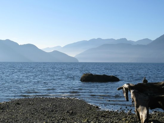 Porteau Cove Provincial Park : incredible morning light