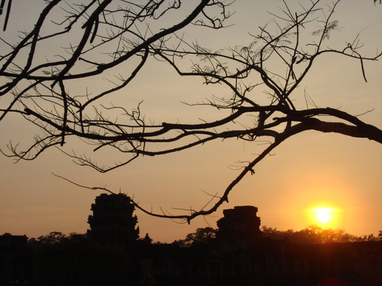 Cambodia Tourist Guide Association - Private Day Tours : Sunset at Angkor Wat