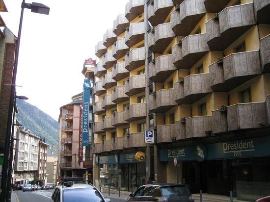 Hotel President : Внешний вид отеля