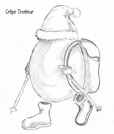 Logo Crêpe Trotteur