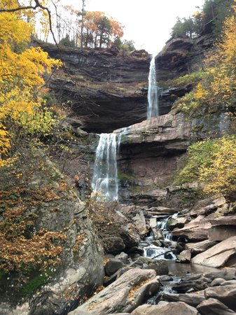 Kaaterskill Falls: View from the base of the falls