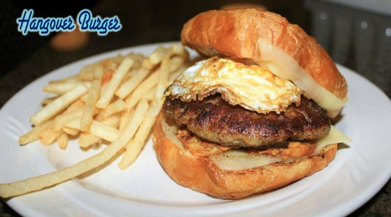 Chillin the Most: Hangover Burger