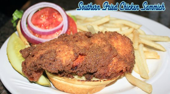 Chillin the Most: Southern Fried Chicken Sammich