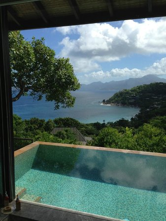 Four Seasons Resort Seychelles : View from the room
