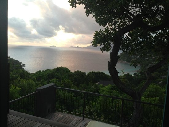 Four Seasons Resort Seychelles : Sundown from the room