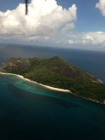 Four Seasons Resort Seychelles: Hellicopter view