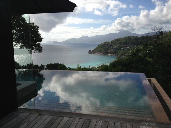 Four Seasons Resort Seychelles: Private pool