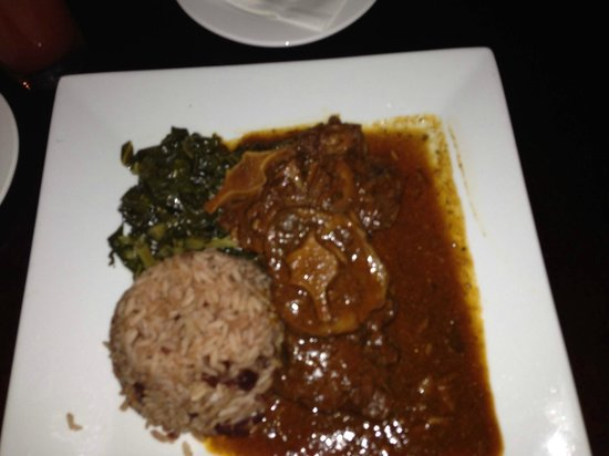 The Spanish Court Hotel : oxtail