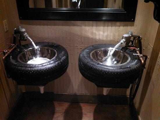 2 car garage man cave ideas - Bathroom sinks Picture of Ford s Garage Fort Myers