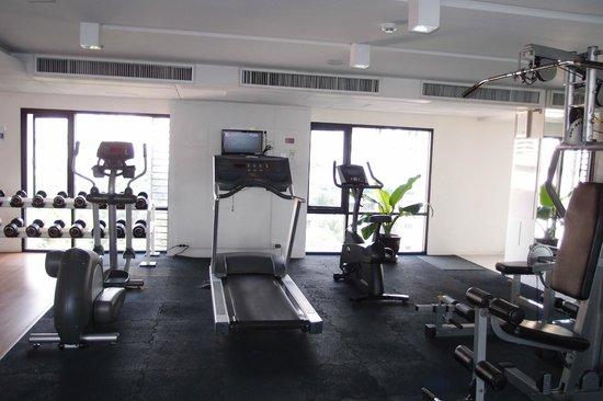 Citadines Sukhumvit 8 Bangkok : Gym on level 7