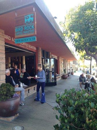Sidewalk And Outdoor Seating Picture Of Bird Rock Coffee Roasters La Jolla Tripadvisor