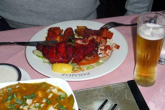 Pan Ahar: Tandoori Cocktail (like mixed grill)