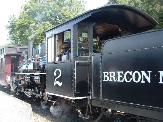 Brecon Mountain Railway : Train no. 2