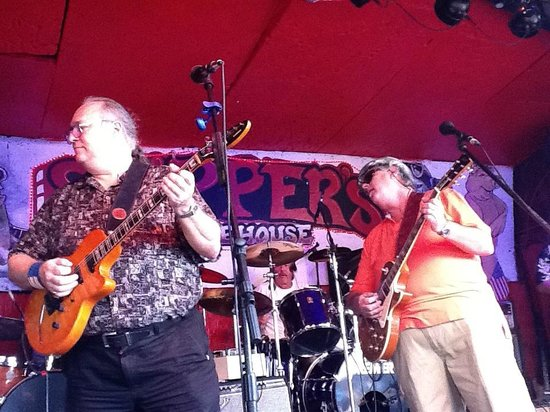Skipper's Smokehouse: Joey Donovan and Patrick Harpe love playing Skipper's.
