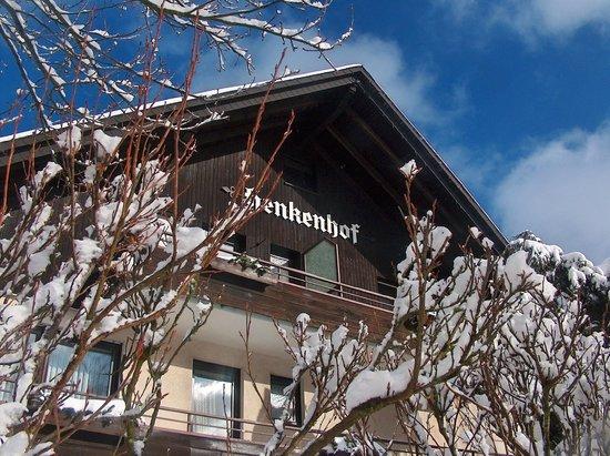 Landhotel Henkenhof: Winteransicht