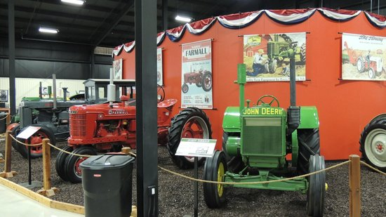 Bayer Museum of Agriculture: well displayed
