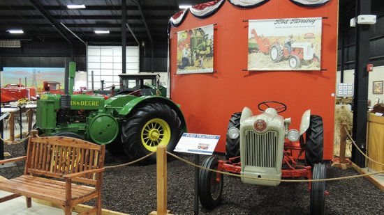 Bayer Museum of Agriculture: tractors of all shapes & sizes