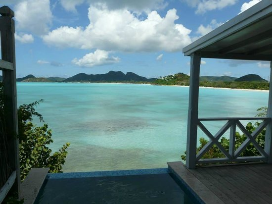 Cocobay Resort: Oceanfront with Plunge Pool (Tamarind Cay) has amazing views!