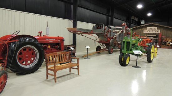 Bayer Museum of Agriculture: harvesters, as well