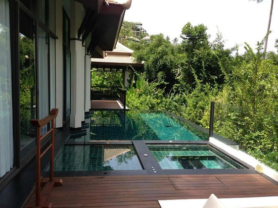 Banyan Tree Samui: Villa with pte pool and Jacuzzi