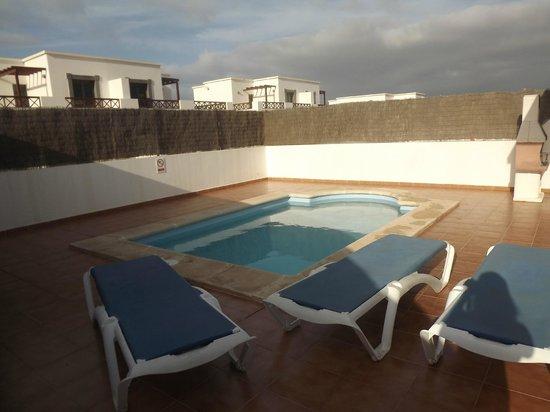 Lanzarote Green Villas: Бассейн