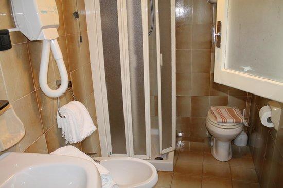 Roma Hotel : bagno