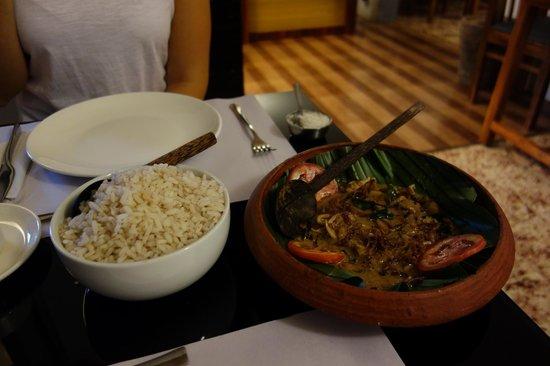 fusion Bay : Tintenfisch mit Reis