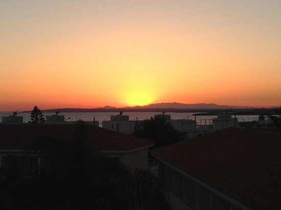 Faros Hotel: Вид с балкона