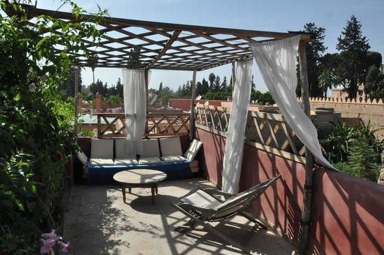 Riad Kalila: terrasse