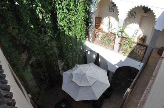 Riad Kalila: vue de la terrasse