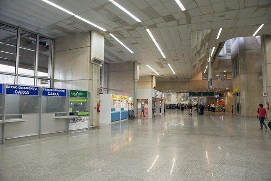 Linx Hotel International Airport Galeão: Stand no aeroporto do Galeão