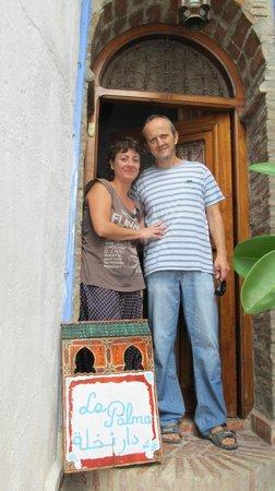 Casa La Palma: Ana and Carlos, Hosts