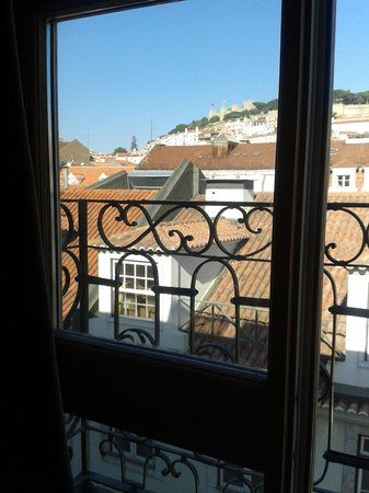 Brown's Boutique Hotel : vista do quarto